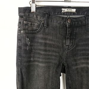 Free People | Black Straight Leg Jeans Womens 26